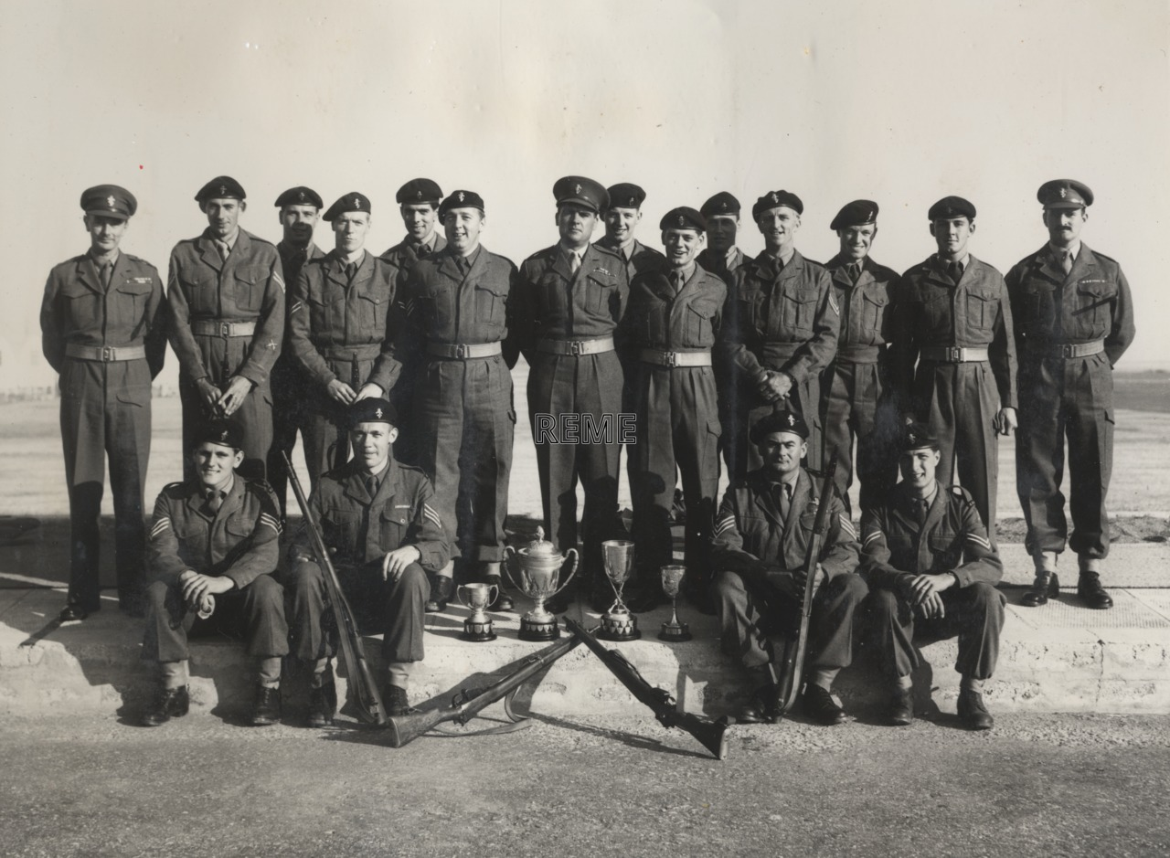 Gibraltar Command Rifle Meeting, 1957