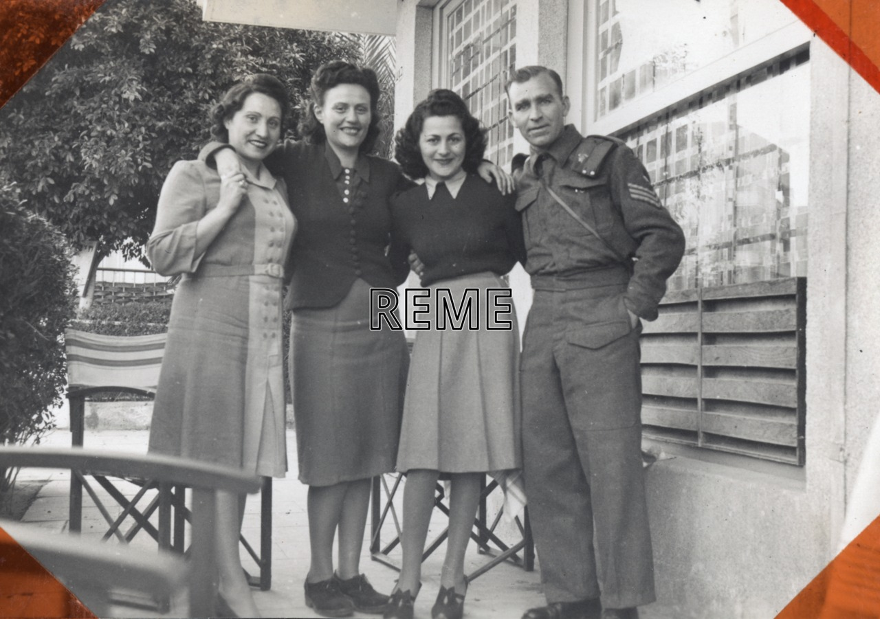 Norman (Jim) W. Underwood, Israel, 1942-45