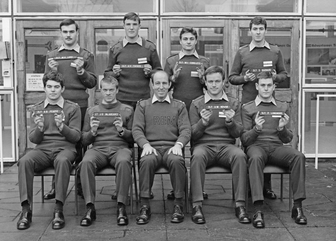 No 80 Regular Young Officers' Course, REME Officers' School, Arborfield.