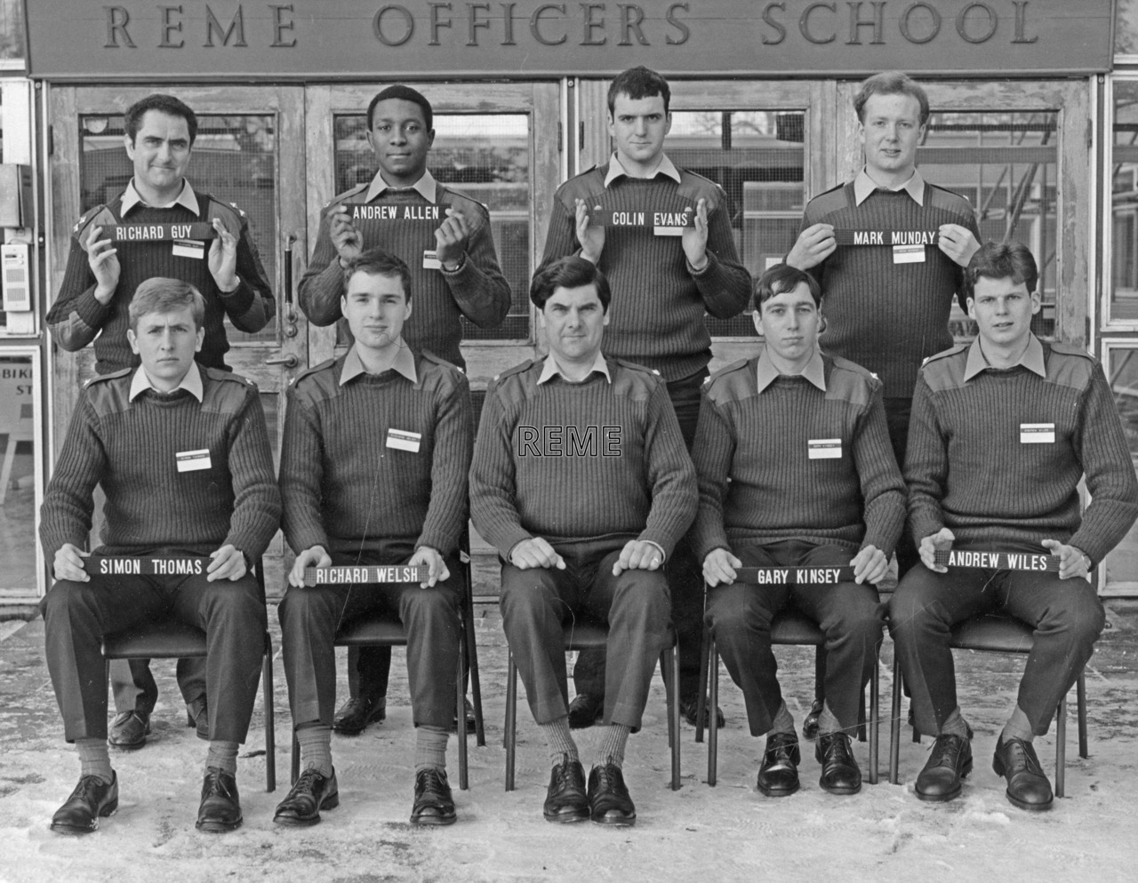 No 86 Regular Young Officers' Course, REME Officers' School, Arborfield.
