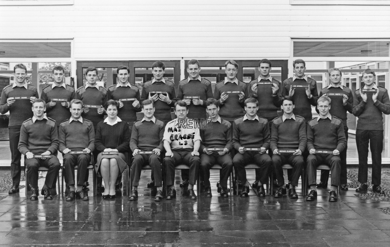 No 96 Regular Young Officers' Course, REME Officers' School, Arborfield, 3-20 May 1988.
