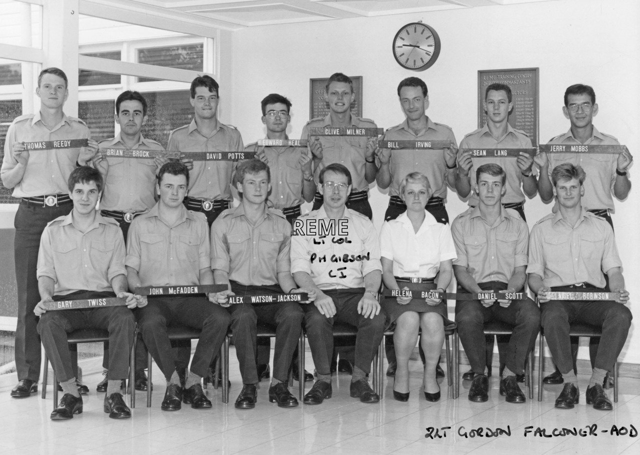 No 97 Regular Young Officers' Course, REME Officers' School, Arborfield, 31 August to 23 September 1988.