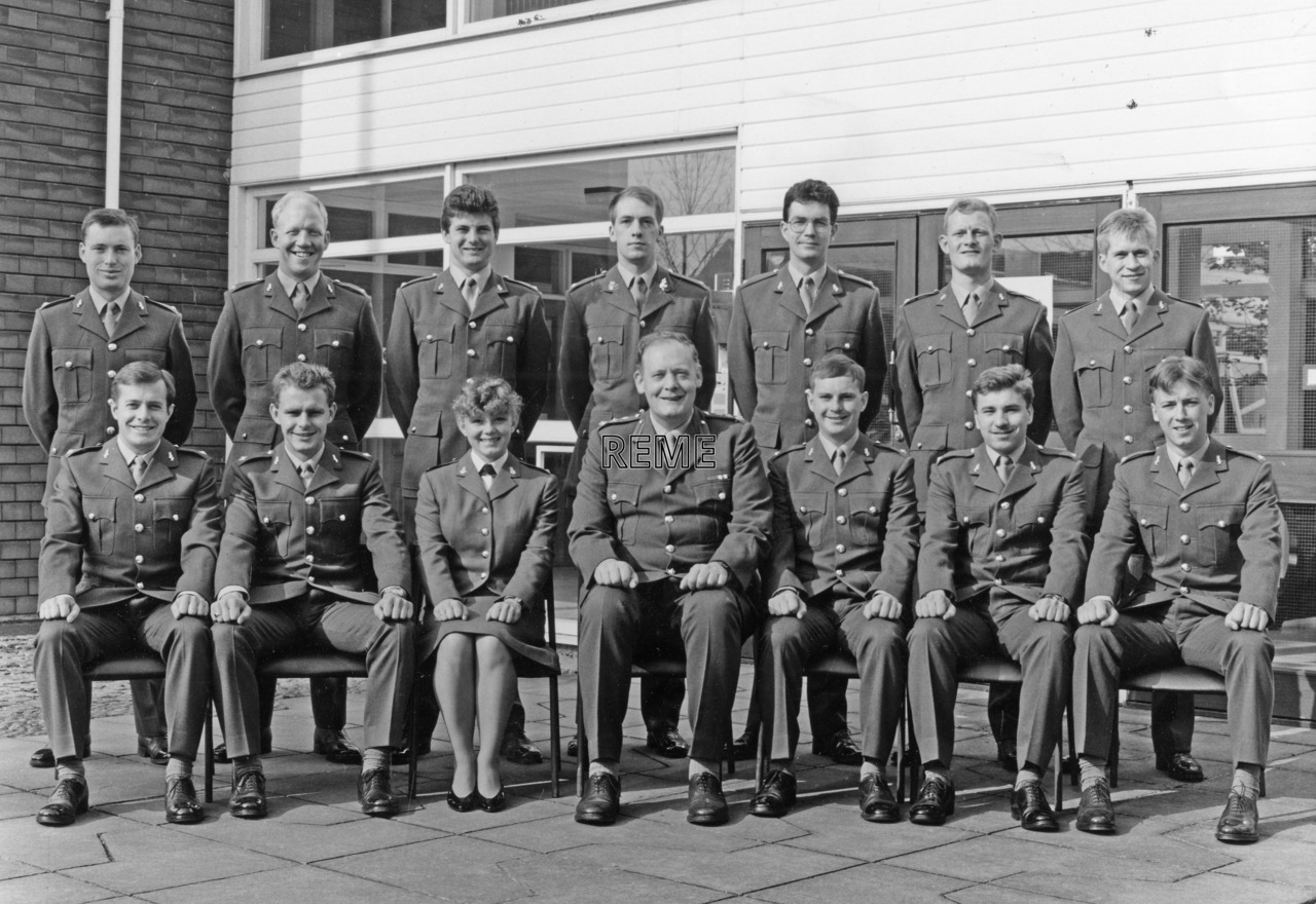 No 99 Regular Young Officers' Course, REME Officers' School, Arborfield, 4 to 24 May 1989.