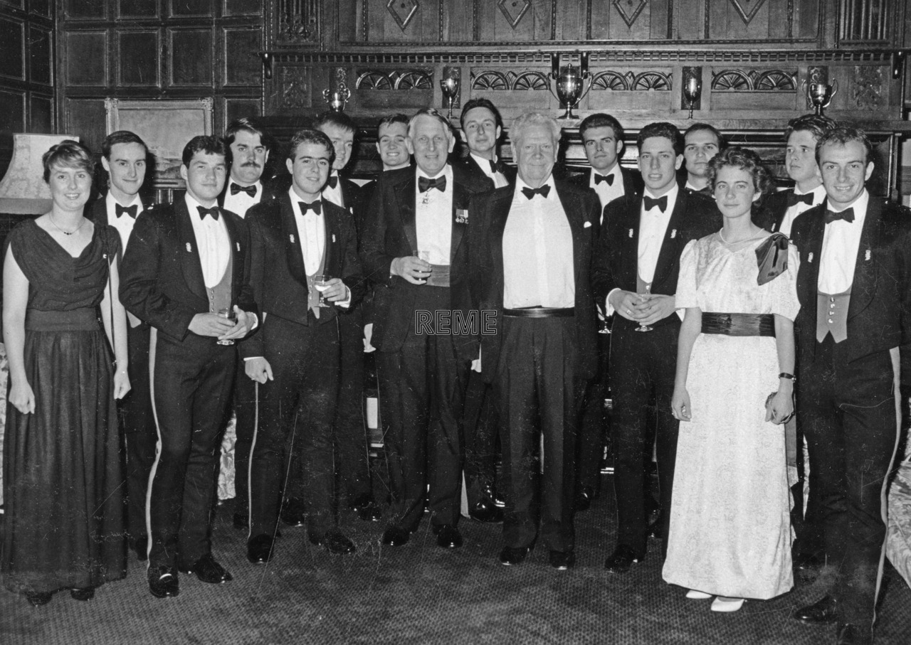 No 100 Regular Young Officers' Course, Corps Dinner Night, 14 September 1989